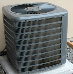 An air conditioning unit in Denver