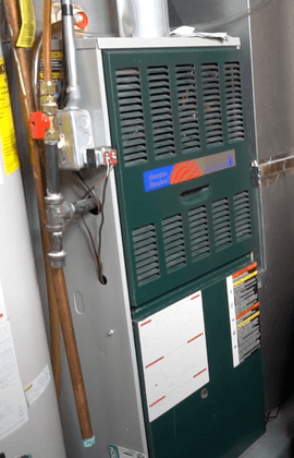 A repaired heater